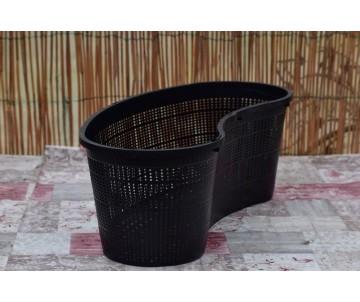 """Vaso retato """"Fagiolo"""" 45x18 cm"""